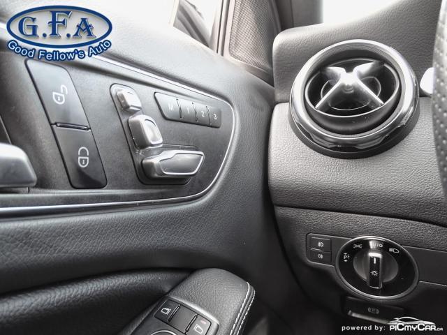 2018 Mercedes-Benz GLA 250 4MATIC, LEATHER SEATS, PAN ROOF, NAVI, BLIND SPOT Photo18