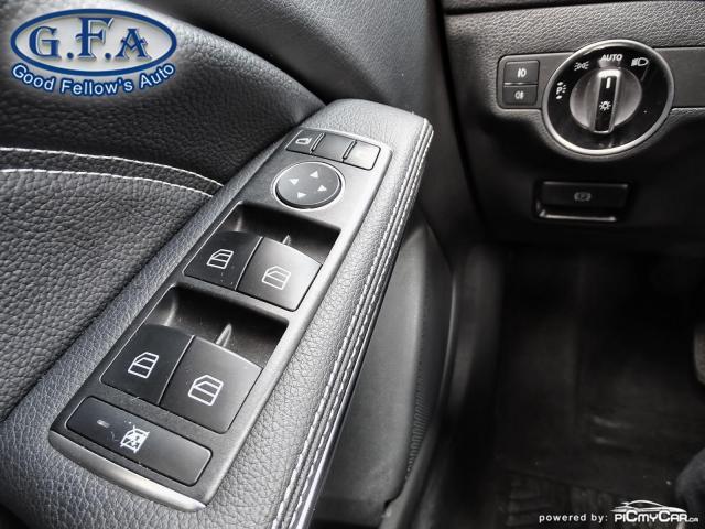 2018 Mercedes-Benz GLA 250 4MATIC, LEATHER SEATS, PAN ROOF, NAVI, BLIND SPOT Photo19