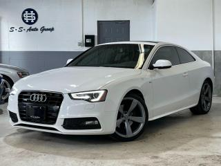 Used 2014 Audi A5 S-LINE|NAV|PARKING SENSOR|DRIVE SELECT|NO ACCIDENT for sale in Oakville, ON