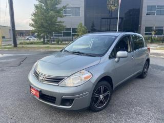 Used 2011 Nissan Versa Automatic, 4 Door, Air, Low km, Warranty Available for sale in Toronto, ON