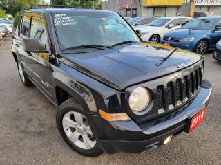 Used 2014 Jeep Patriot north/4WD/LOADED/ALLOYS/CLEAN CAR FAX for sale in Scarborough, ON