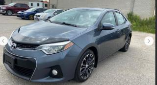 Used 2014 Toyota Corolla S for sale in Stouffville, ON