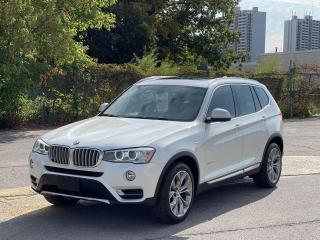 Used 2015 BMW X3 xDrive28d Navigation /Panoramic Sunroof /Camera for sale in North York, ON