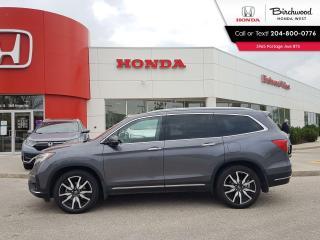 Used 2019 Honda Pilot Touring 7-Passenger Leather - DVD - Navi - Heated Seats - Bluetooth for sale in Winnipeg, MB