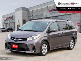 Used 2019 Toyota Sienna LE for sale in Winnipeg, MB