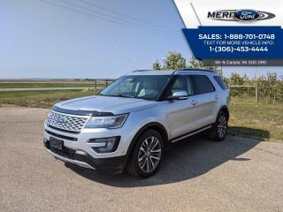 Used 2016 Ford Explorer Platinum with DVD for sale in Carlyle, SK