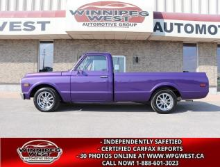 Used 1971 Chevrolet C10/K10 RESTO-MOD, CRATE 350, FLAWLESS & STUNNING! for sale in Headingley, MB