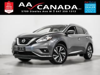 Used 2017 Nissan Murano Platinum AWD for sale in North York, ON