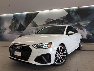 Used 2020 Audi S4 3.0T Technik + Sport Diff | Adv Driver | Blk Optic for sale in Whitby, ON