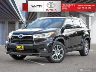 Used 2014 Toyota Highlander XLE for sale in Whitby, ON