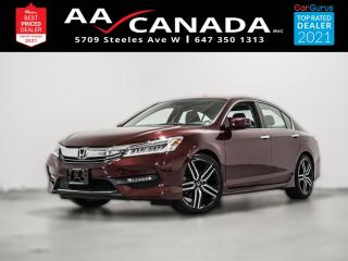 Used 2017 Honda Accord Touring   LEATHER   SUNROOF   NAVI   for sale in North York, ON
