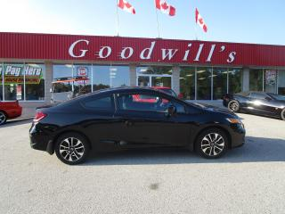 Used 2015 Honda Civic COUPE CLEAN CARFAX! CRAZY LOW KM'S! for sale in Aylmer, ON
