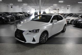 Used 2018 Lexus IS IS 300 I LEATHER I SUNROOF I REAR CAM I PUSH START I CRUISE for sale in Mississauga, ON