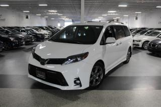 Used 2018 Toyota Sienna SE NO ACCIDENTS I LEATHER I REAR CAM I POWER DOORS for sale in Mississauga, ON
