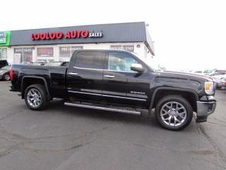 Used 2014 GMC Sierra 1500 SLT Crew Cab 4WD 5.3L Navigation Camera Certified for sale in Milton, ON