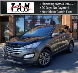 Used 2014 Hyundai Santa Fe Sport 2.0T AWD Back-Up Camera PDC Pano Sunroof Leather for sale in North York, ON
