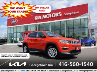 Used 2019 Jeep Compass SPORT | CLN CRFX | BU CAM | HTD SEATS | 33 K | B/T for sale in Georgetown, ON