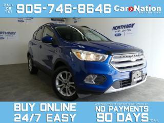 Used 2018 Ford Escape SE   SAFE & SMART PKG   REAR CAM   NEW CAR TRADE for sale in Brantford, ON