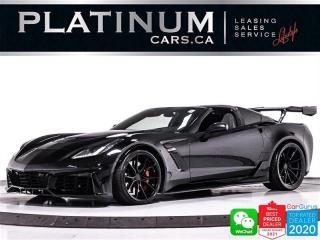Used 2019 Chevrolet Corvette Z06 2LZ, ZR1 KIT, 650HP, PDR, HUD, BOSE for sale in Toronto, ON