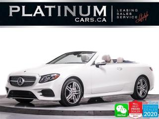 Used 2020 Mercedes-Benz E-Class E450 4MATIC, DISTRONIC, MEMORY PKG, DRIVERS PKG for sale in Toronto, ON