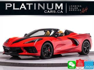Used 2021 Chevrolet Corvette Stingray Convertible 3LT, Z51,495HP, R APPEARANCE for sale in Toronto, ON