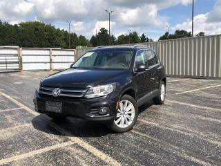 Used 2017 Volkswagen Tiguan COMFORTLINE 4Motion for sale in Cayuga, ON