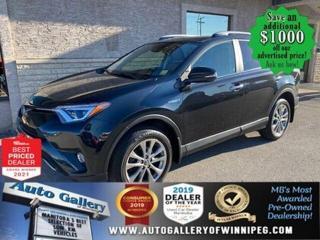 Used 2018 Toyota RAV4 LTD* Hybrid/AWD/Bluetooth/HEATED SEATS for sale in Winnipeg, MB