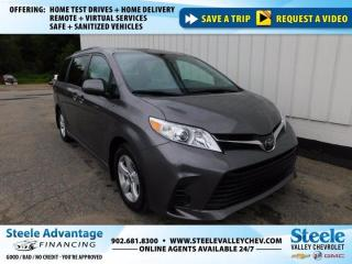 Used 2020 Toyota Sienna LE-SUPER CLEAN-ONLY 13000KM-B/UP CAMERA!!!!!! for sale in Kentville, NS