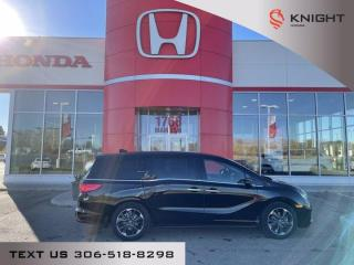 New 2022 Honda Odyssey Touring for sale in Moose Jaw, SK