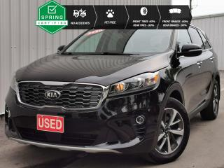 Used 2020 Kia Sorento 3.3L EX NO ACCIDENTS, ONE OWNER, PET-FREE, TIRES WITH 80% TREAD LEFT for sale in Cranbrook, BC
