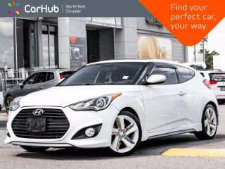 Used 2013 Hyundai Veloster Turbo Auto Heated Seats Navigation Backup Camera Dimension Sound for sale in Thornhill, ON