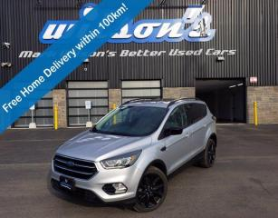 Used 2017 Ford Escape SE 4WD, 2.0L Ecoboost, Navigation System, Sport Appearance Pkg, Power Liftgate, Sunroof and More! for sale in Guelph, ON