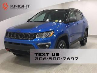 New 2021 Jeep Compass Trailhawk 4x4 | Sunroof | Navigation | for sale in Regina, SK