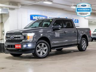 Used 2018 Ford F-150 XLT+4X4+CAMERA+REMOTE START+NAVIGATION+LED BOX LIGHTING for sale in Toronto, ON