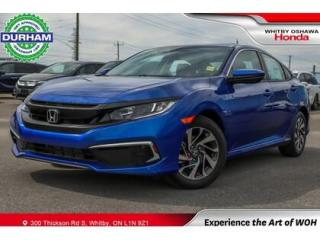 Used 2020 Honda Civic EX   CVT   Power Moonroof for sale in Whitby, ON