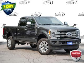 Used 2019 Ford F-350 Platinum DIESEL   TWIN PANEL MOONROOF   ADAPTIVE CRUISE for sale in St Catharines, ON