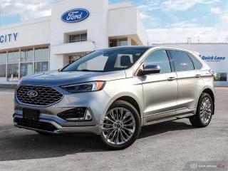 New 2021 Ford Edge Titanium for sale in Winnipeg, MB