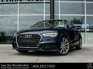 Used 2018 Audi A3 2.0T Technik quattro 6sp S tronic Cab for sale in Calgary, AB
