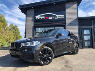 Used 2017 BMW X6 xDrive35i M SPORT | RED LEATHER for sale in Stittsville, ON