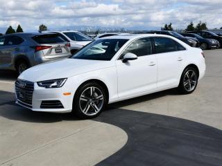 Used 2017 Audi A4 2.0T Technik quattro 7sp S tronic for sale in Richmond, BC
