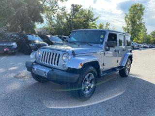 Used 2016 Jeep Wrangler Sahara for sale in London, ON