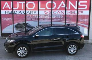 Used 2018 Acura RDX TECH-ALL CREDIT ACCEPTED for sale in Toronto, ON
