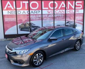 Used 2017 Honda Civic EX-HONDA SENSING-ALL CREDIT ACCEPTED for sale in Toronto, ON