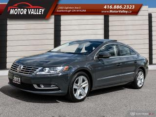 Used 2013 Volkswagen Passat CC Sportline Leather / Roof / Camera - Mint! for sale in Scarborough, ON