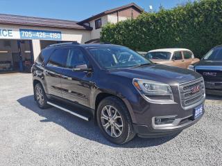 Used 2015 GMC Acadia SLT2, AWD for sale in Beaverton, ON