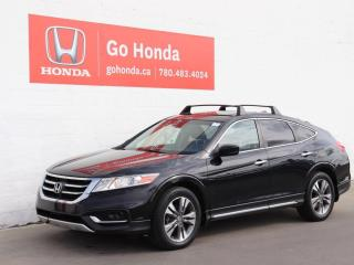 Used 2014 Honda Accord Crosstour EX-L, LEATHER, SUNROOF, NO ACCIDENTS! for sale in Edmonton, AB