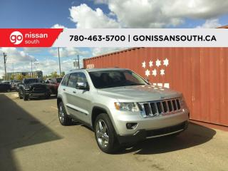 Used 2011 Jeep Grand Cherokee OVERLAND, 4X4, LEATHER, NAVIGATION for sale in Edmonton, AB