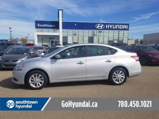 Used 2015 Nissan Sentra SV/HANDSFREE/HEATED SEATS/BACKUP CAM for sale in Edmonton, AB
