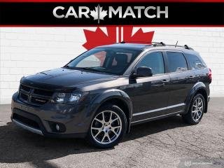Used 2016 Dodge Journey R/T / AWD / LEATHER / SUNROOF / NO ACCIDENTS for sale in Cambridge, ON