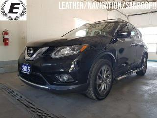 Used 2015 Nissan Rogue SL  LEATHER/NAVIGATION/SUNROOF!! for sale in Barrie, ON